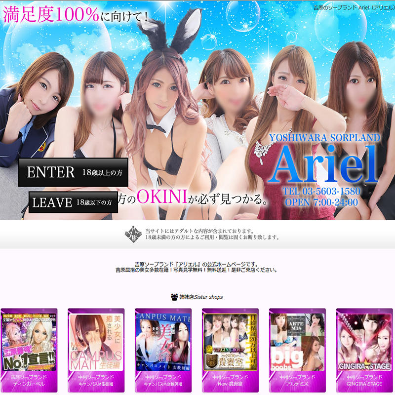 Ariel_オフィシャルサイト