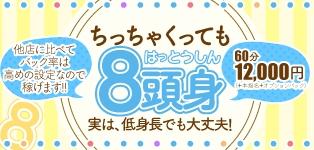 五反田デリヘル8頭身