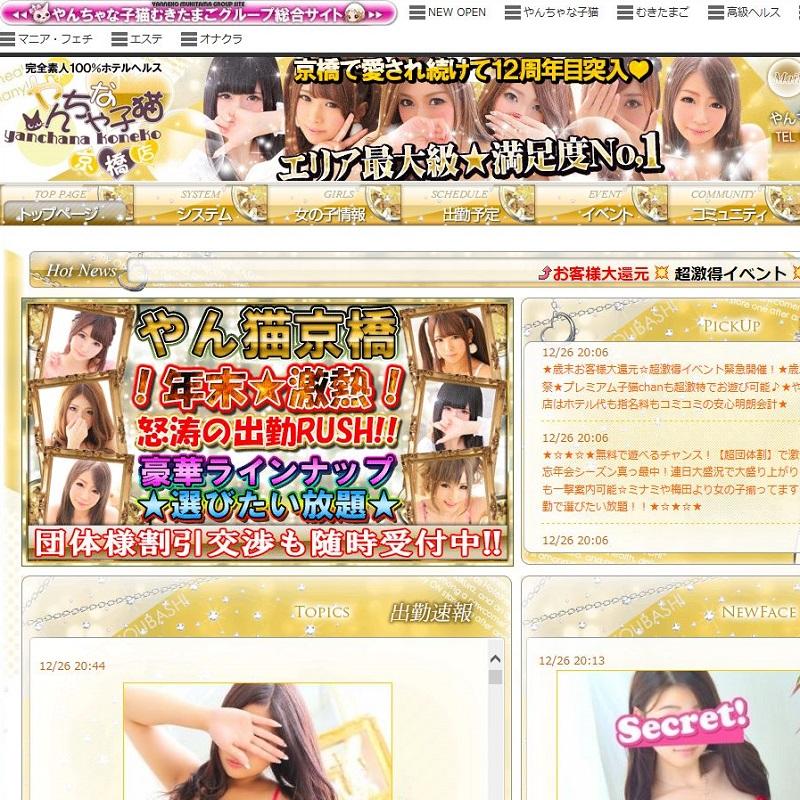 やんちゃな子猫 京橋店_オフィシャルサイト